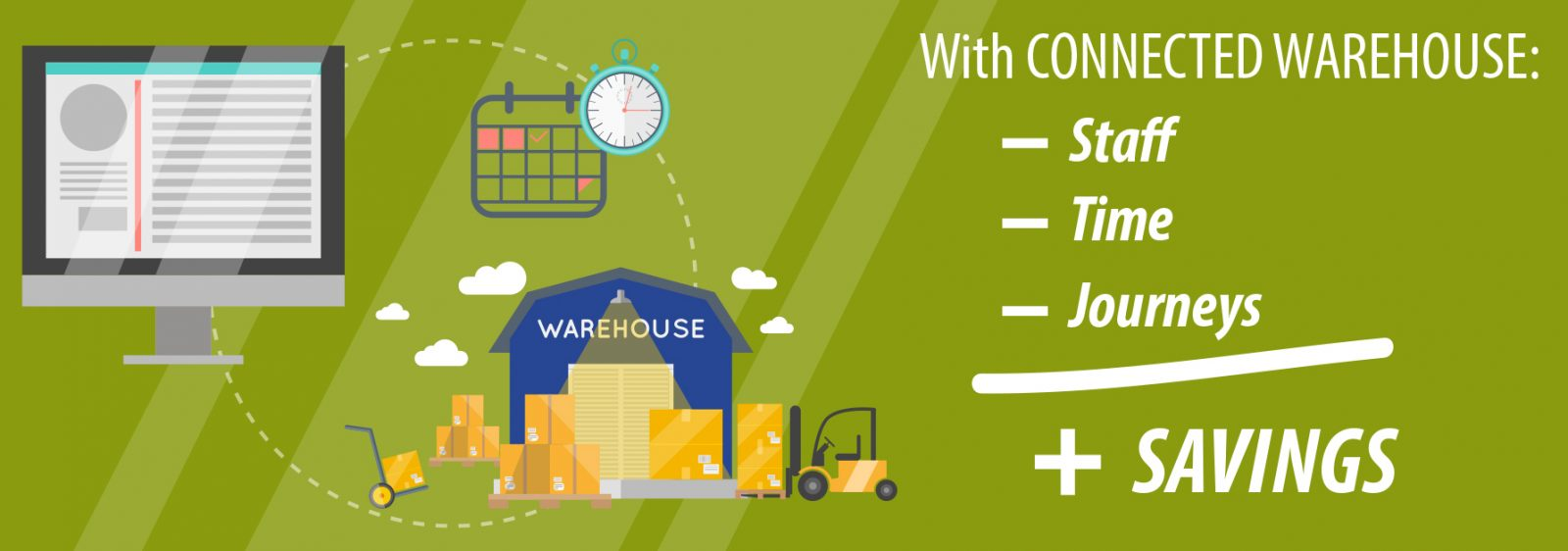 connected warehouse_savings